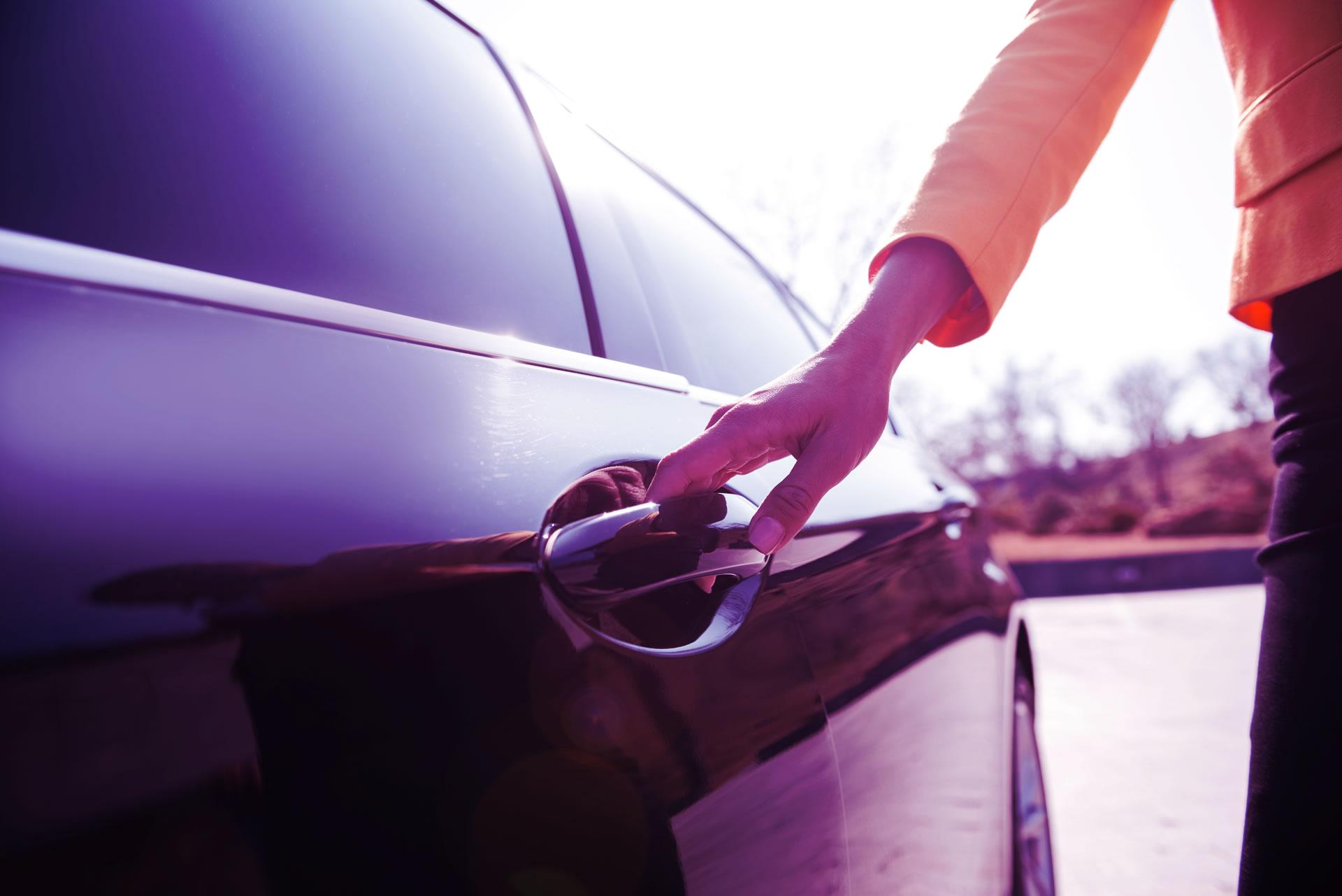 Ouverture du véhicule en libre-service