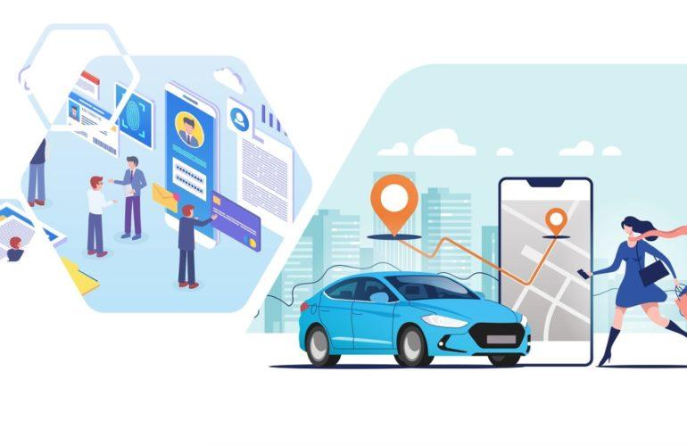 Processus location de véhicule en libre service