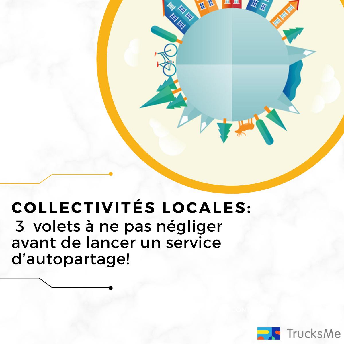Collectivités locales, 3 volets à ne pas négliger avant de lancer un service d'autopartage.